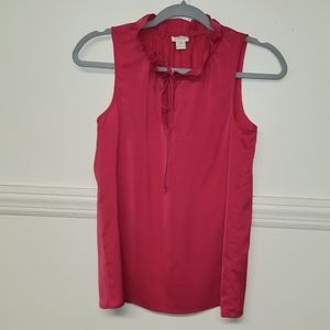 J Crew Sleeveless Blouse Size 00